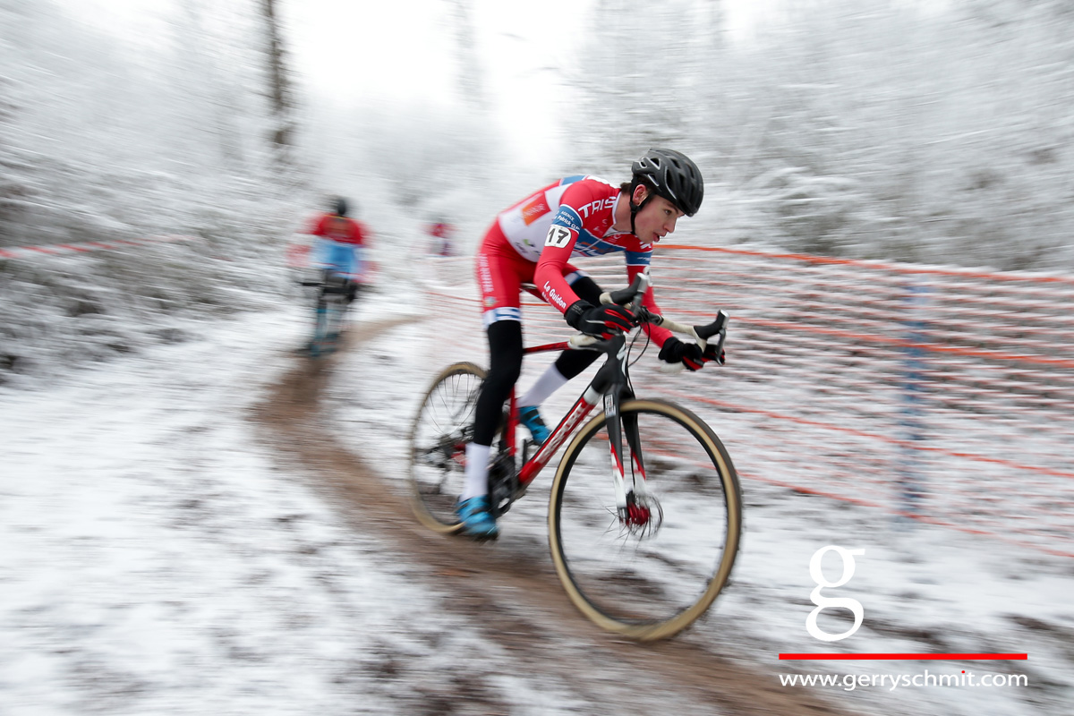 Scott Thiltges (LG Alzingen) @ Newyears Cyclocross in Petange
